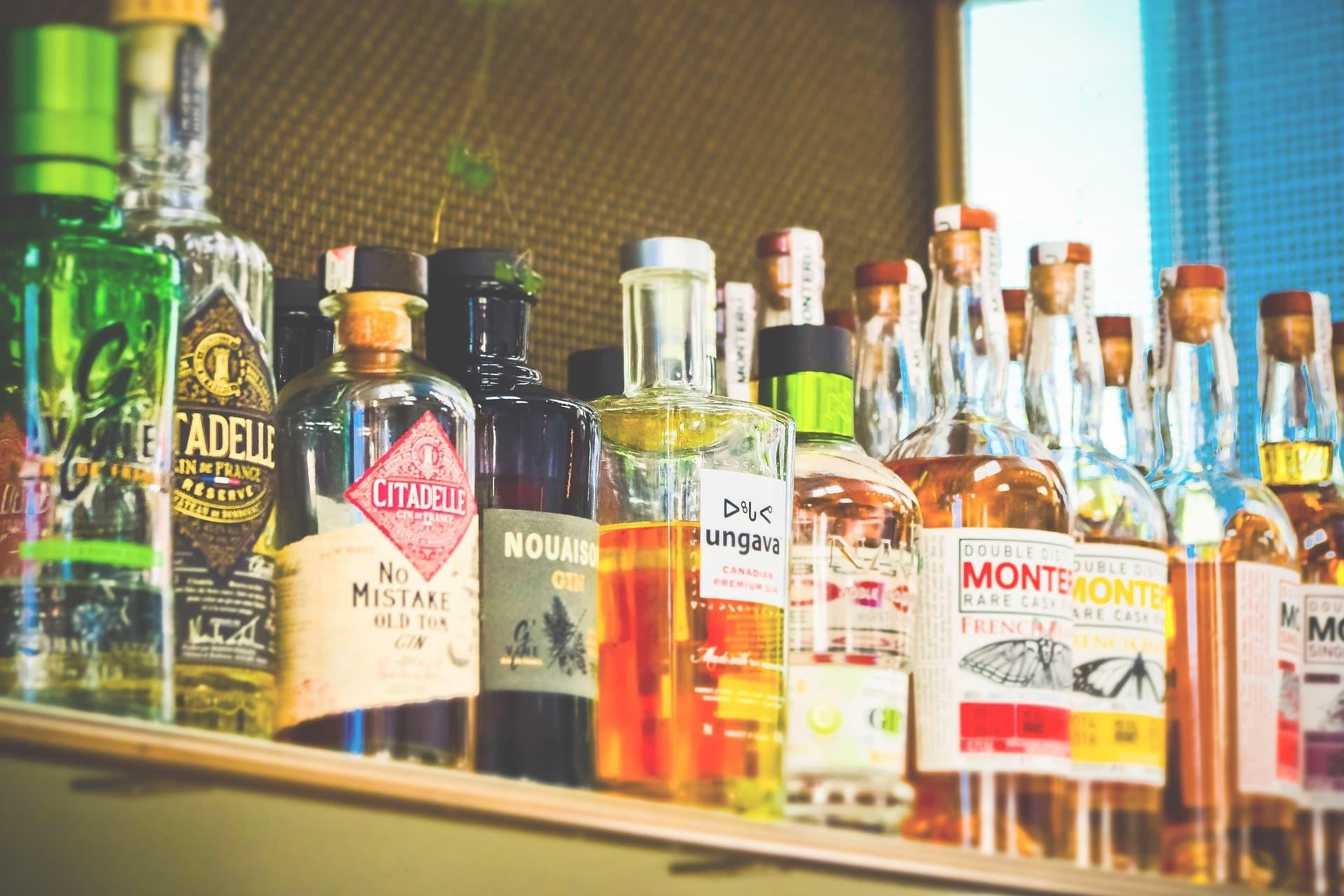 Alkohol flaskor